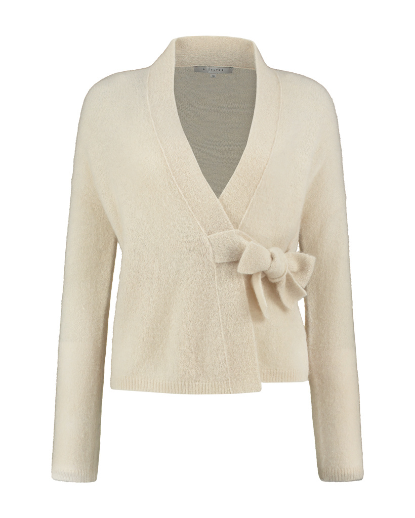 SYLVER Super Hair Cardigan - Oatmeal