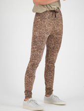 SYLVER Gravel Silky Jersey Pants - Brown