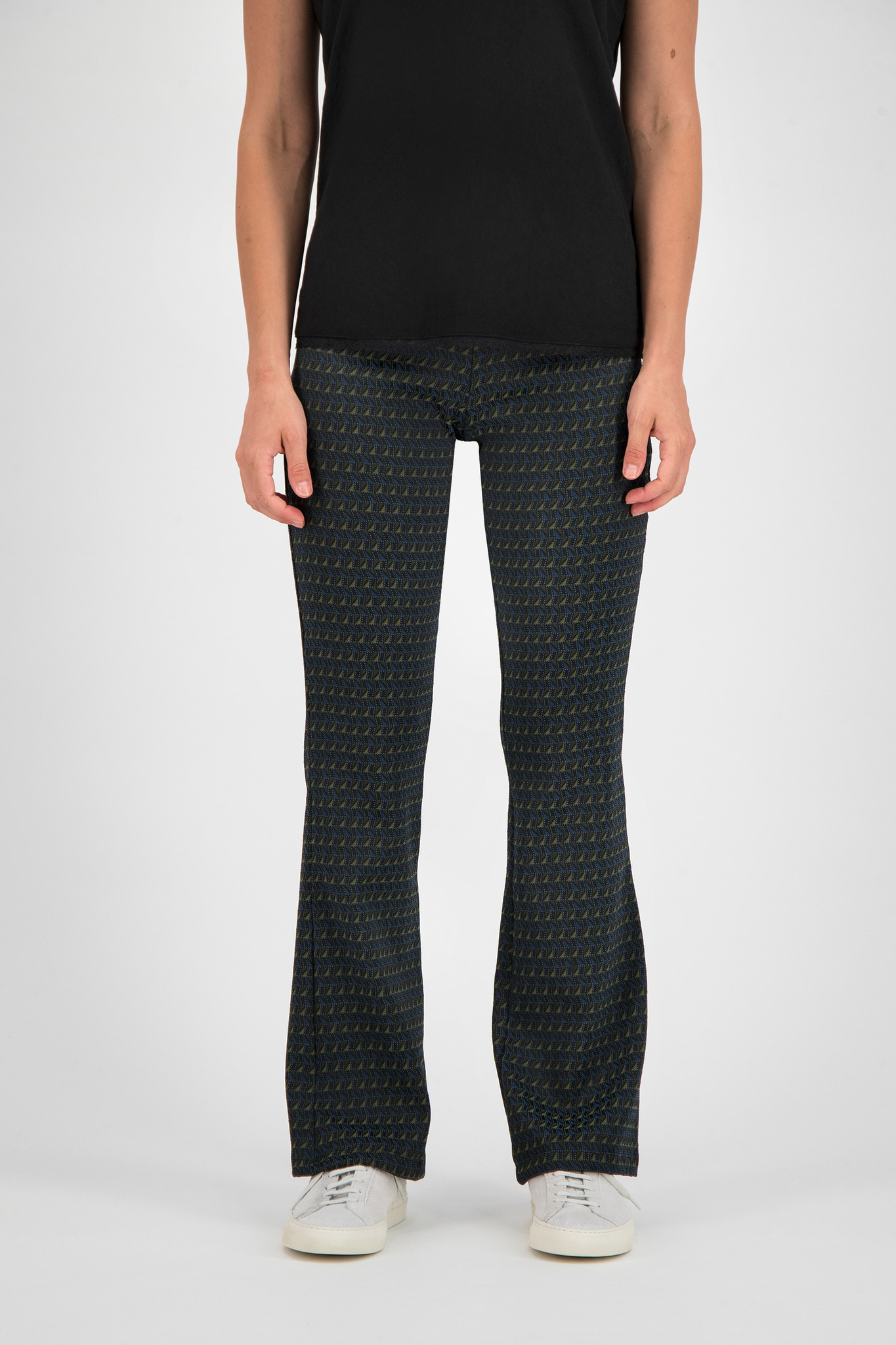 SYLVER Fancy Trousers Flared - Country