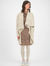 SYLVER Easter Cardigan - Oatmeal