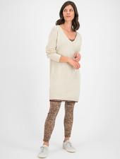 SYLVER Merino Mix Dress - Oatmeal