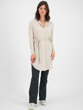 SYLVER New Lyocell Blouse - Oatmeal