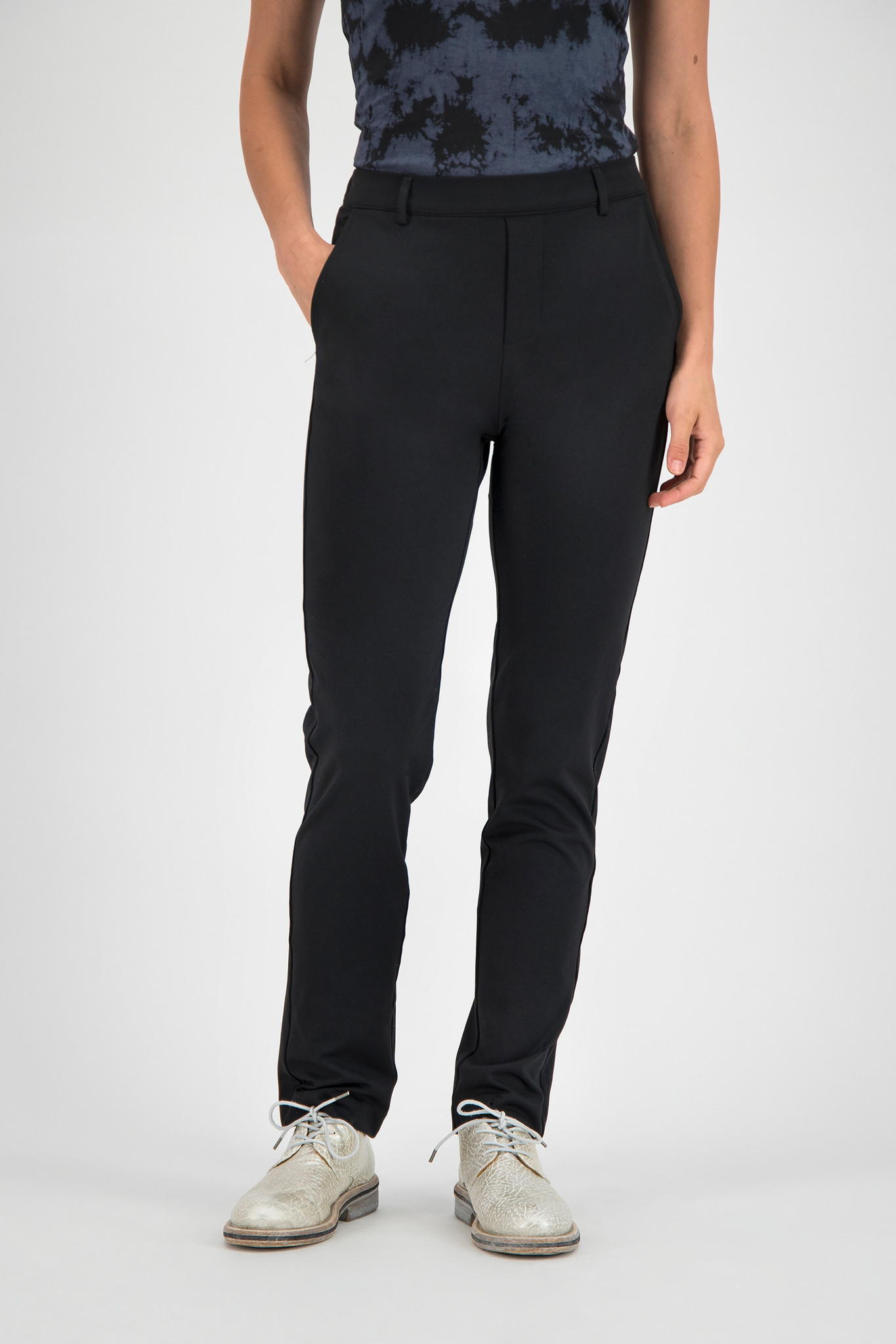 SYLVER Techno Jersey Pants - Black