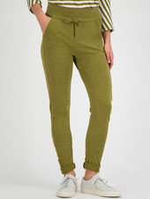 SYLVER Light Slub Trousers - Country