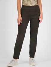 SYLVER Fancy Trousers Straight - Caramel