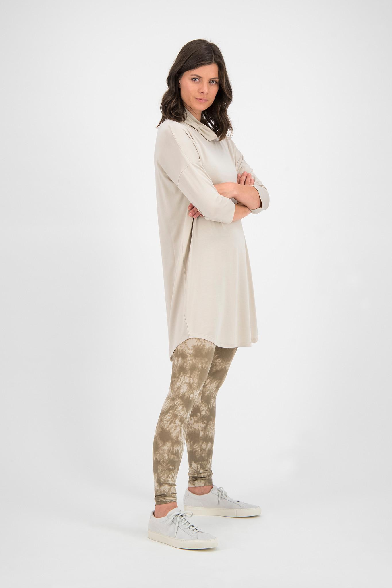 SYLVER Batik Legging - Oatmeal