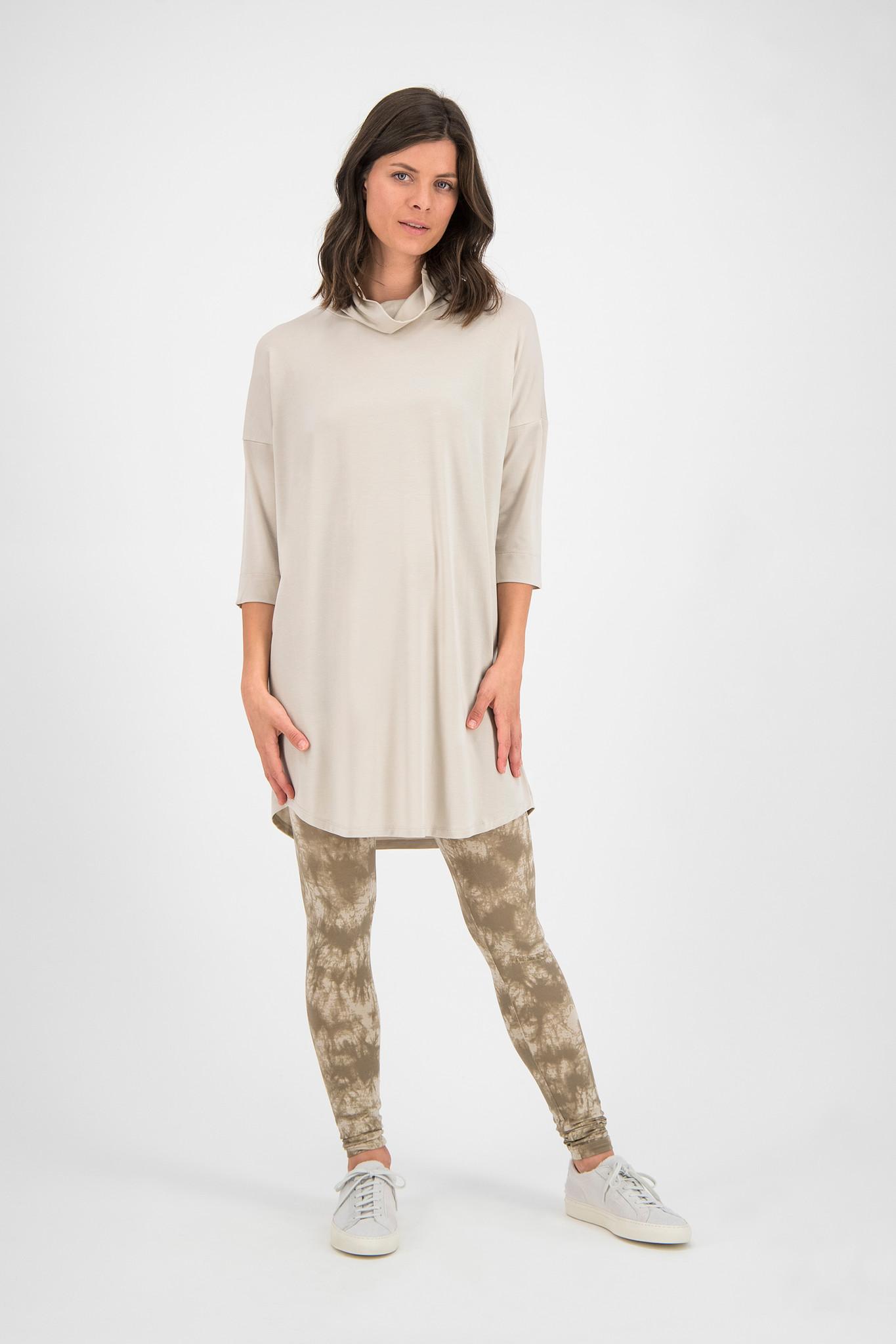 SYLVER New Lyocell Shirt - Oatmeal