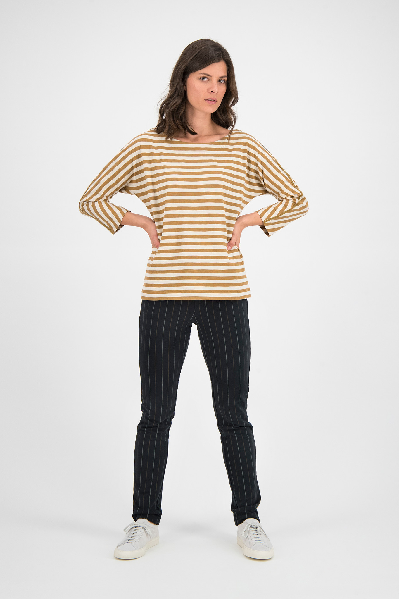 SYLVER Stripe Sweat Pants - Black