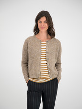 SYLVER Twisted Cardigan - Caramel