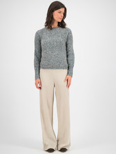 SYLVER Easter Pull Round neck - Tundra