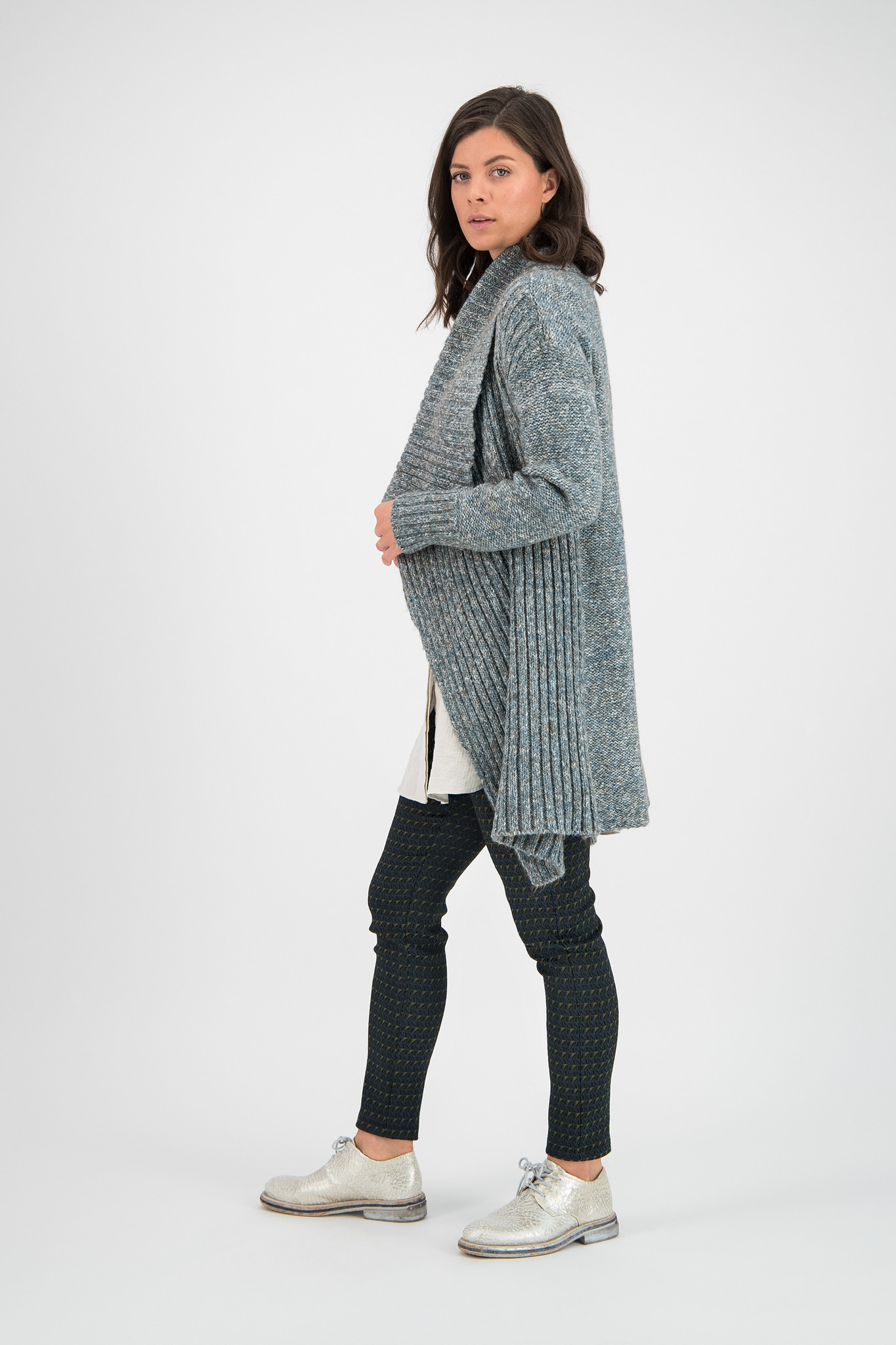 SYLVER Easter Cardigan - Tundra