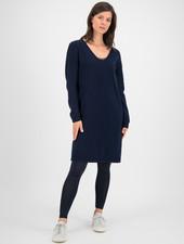 SYLVER Merino Mix Dress - Dark Blue