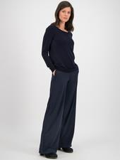SYLVER Fine Knit Pull - Dark Blue