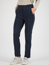 SYLVER Stripe Sweat Pants - Dark Blue