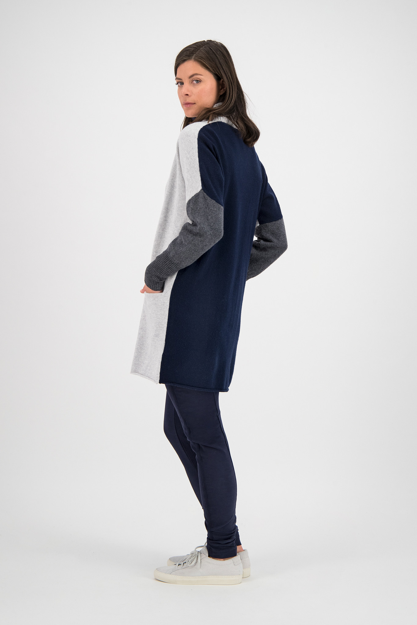 SYLVER Superb Cardigan - Light Grey