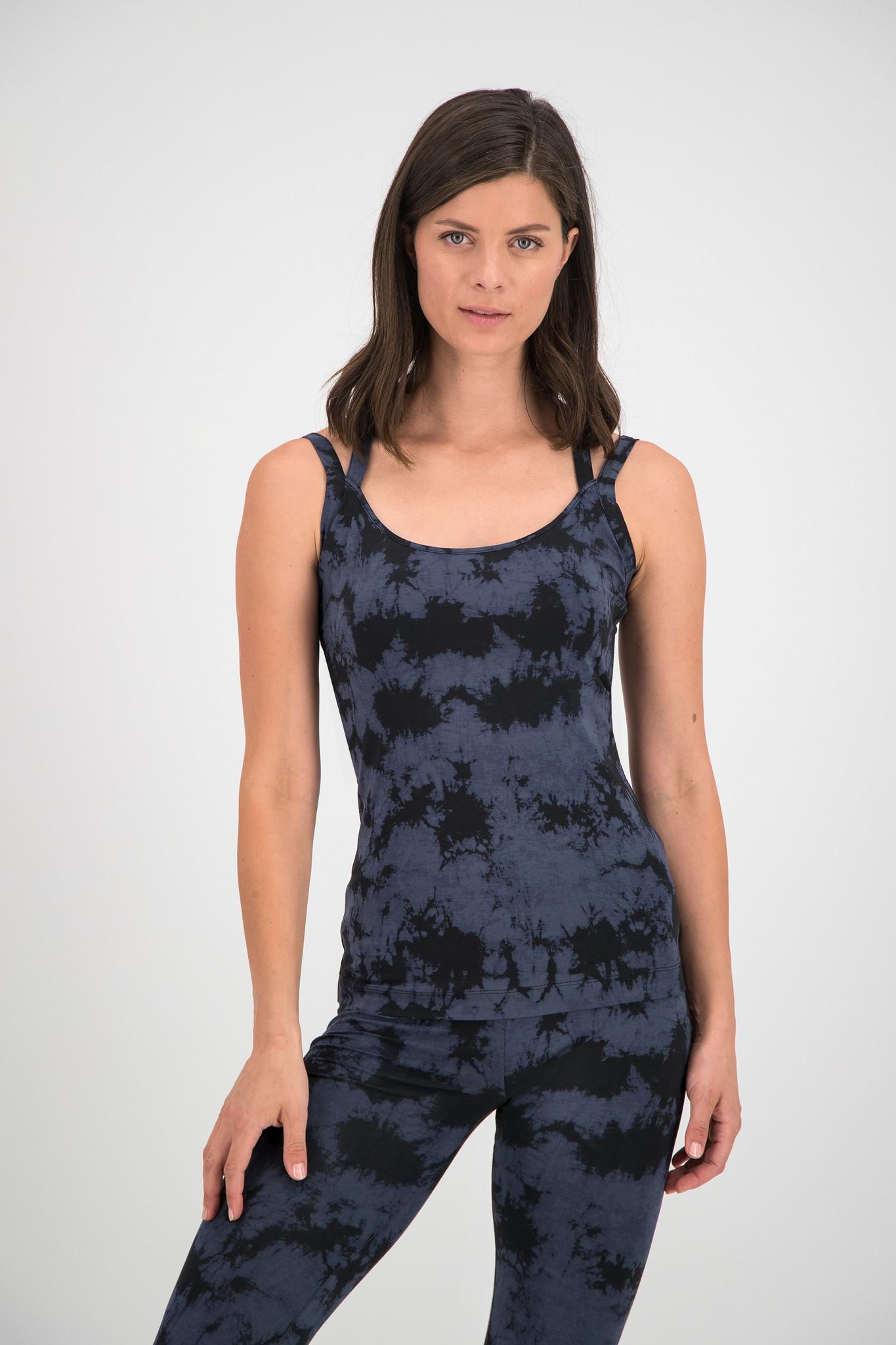 SYLVER Batik Singlet - Grey