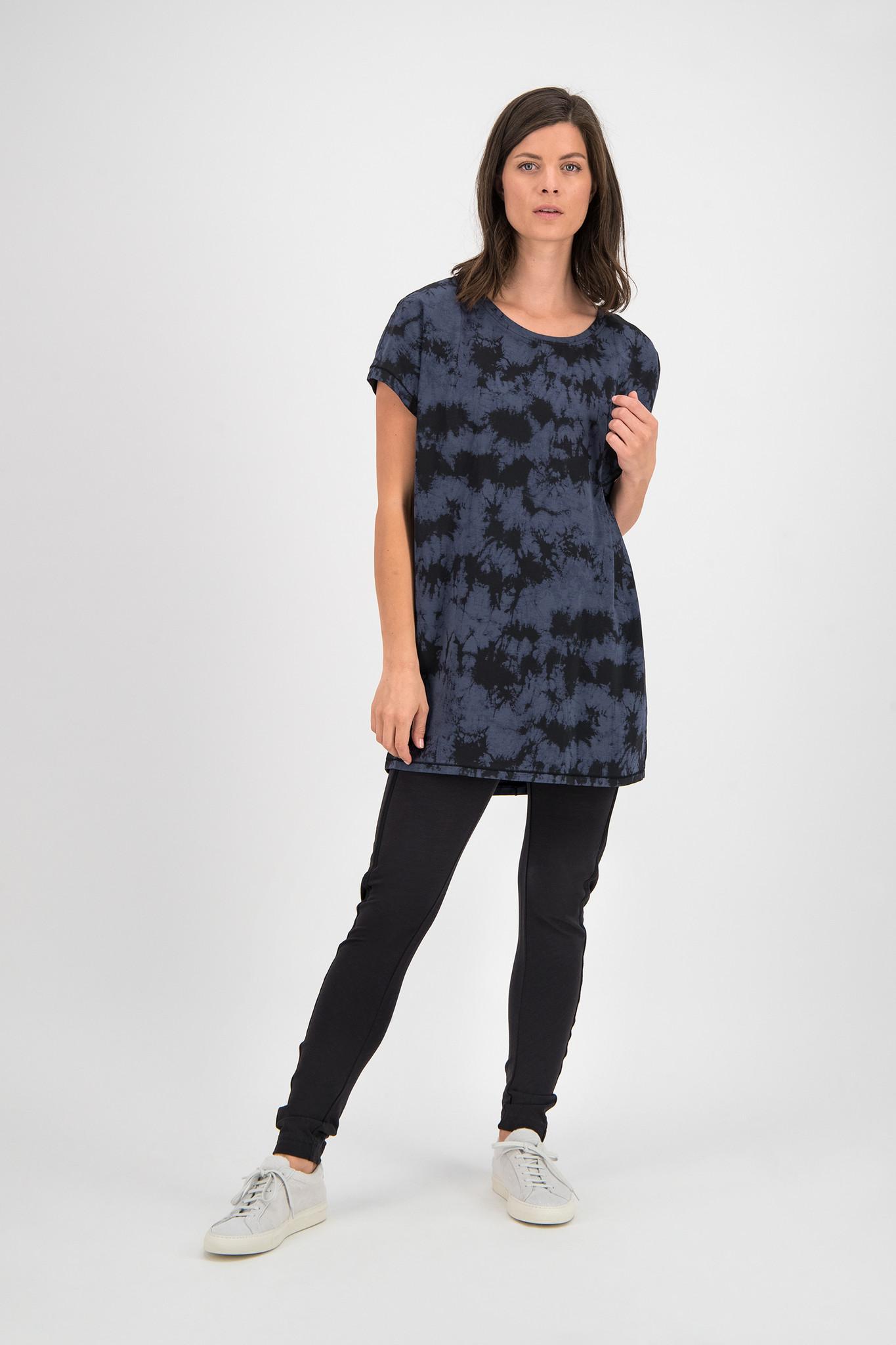 SYLVER Batik Shirt - Grey