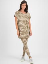 SYLVER Batik Shirt - Oatmeal