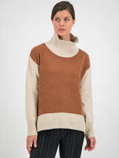 SYLVER Superb Pull Turtle-neck - Burnt Orange