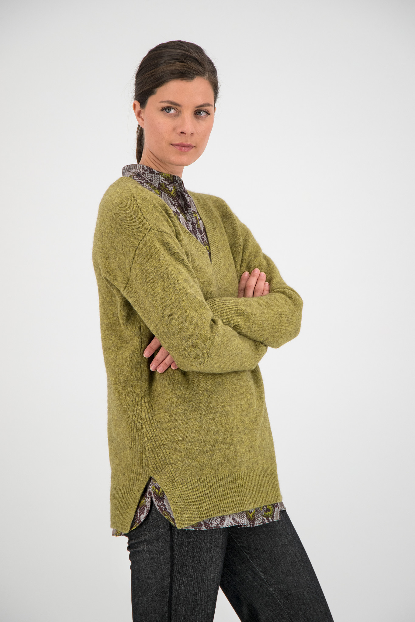 SYLVER Yak Merino Wool Pull - Country