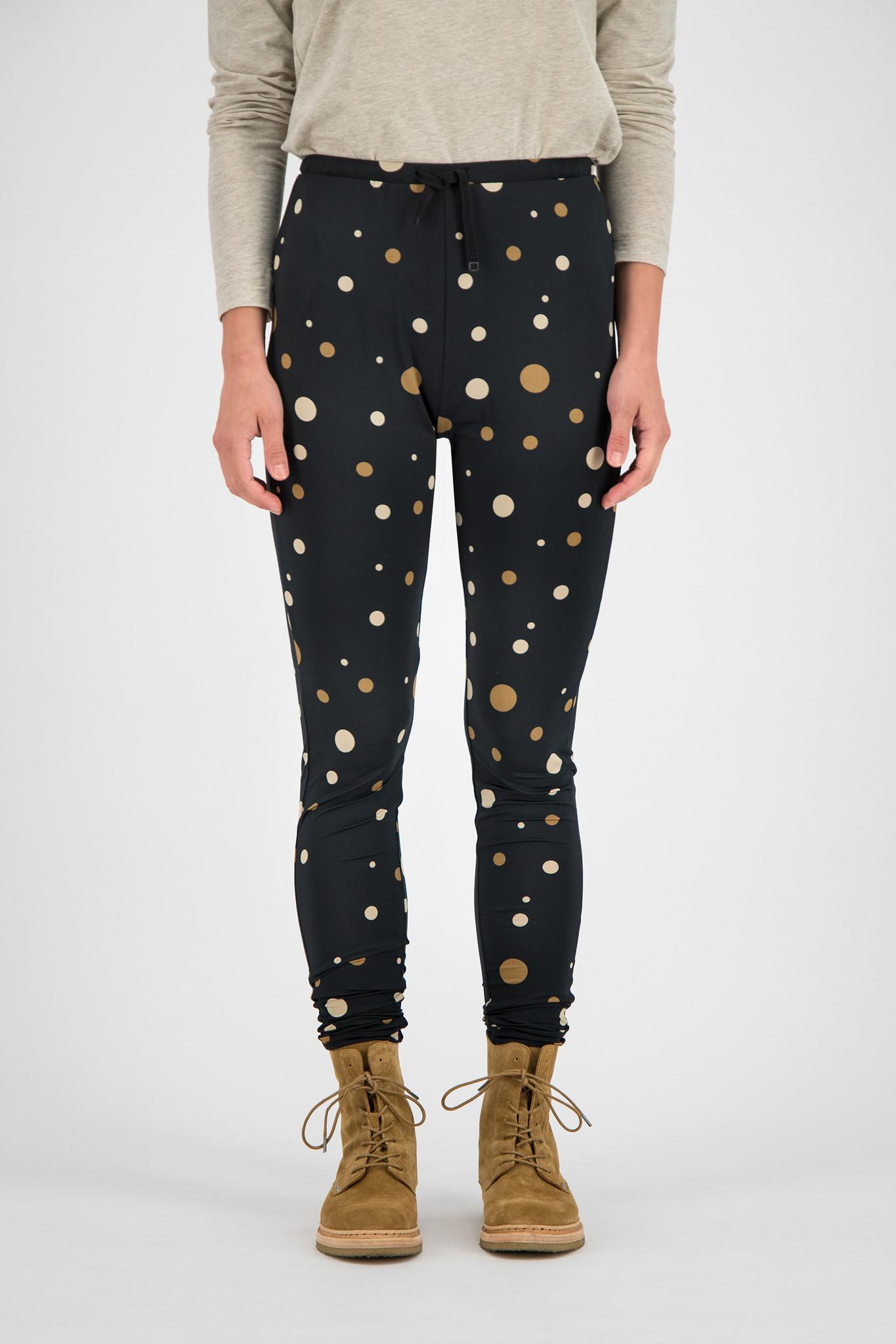 SYLVER Fantasy Dot Pants - Black