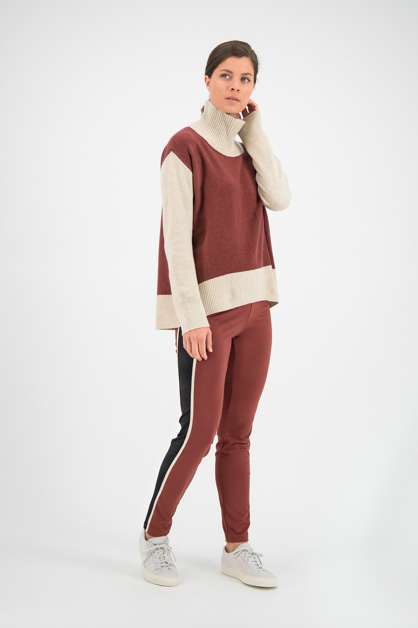 SYLVER Superb Pull Turtle-neck - Rust