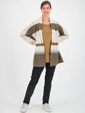 SYLVER Blanket Cardigan - Naturel