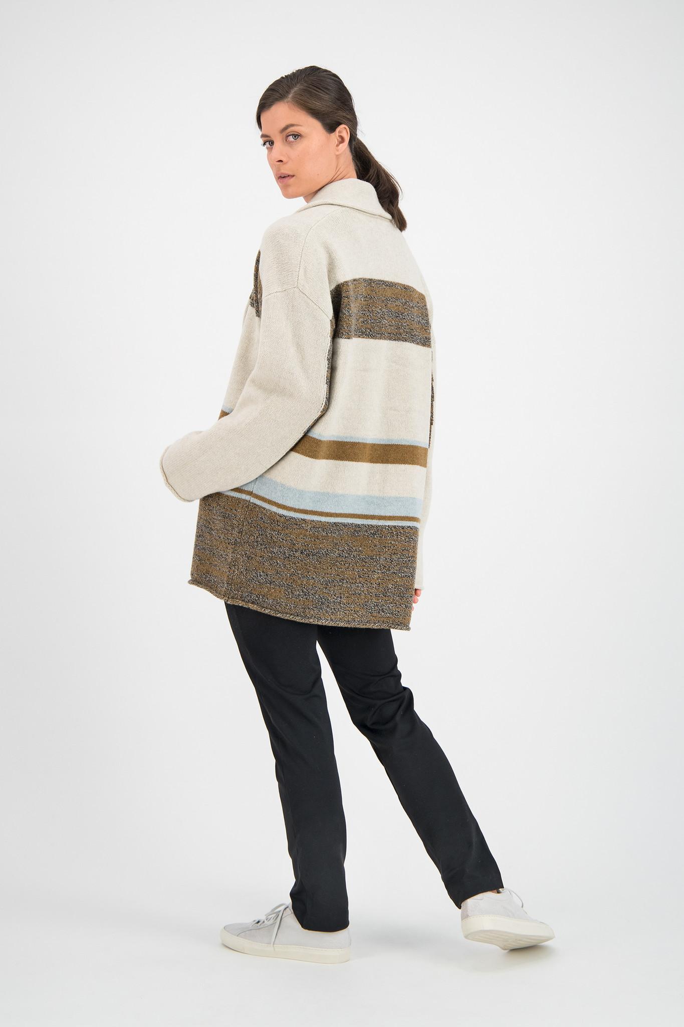 SYLVER Blanket Cardigan - Naturel