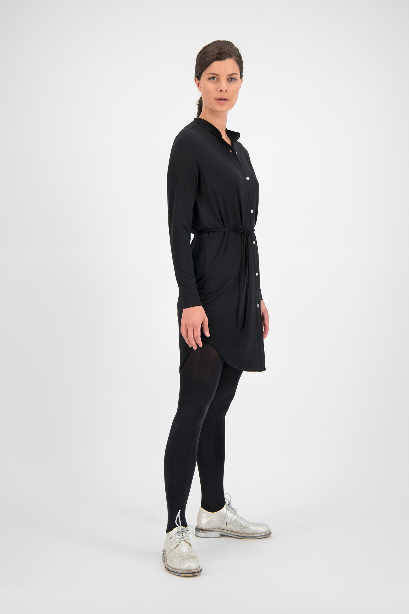 SYLVER New Lyocell Blouse - Black