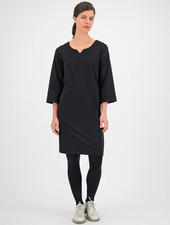 SYLVER Techno Jersey Dress - Black