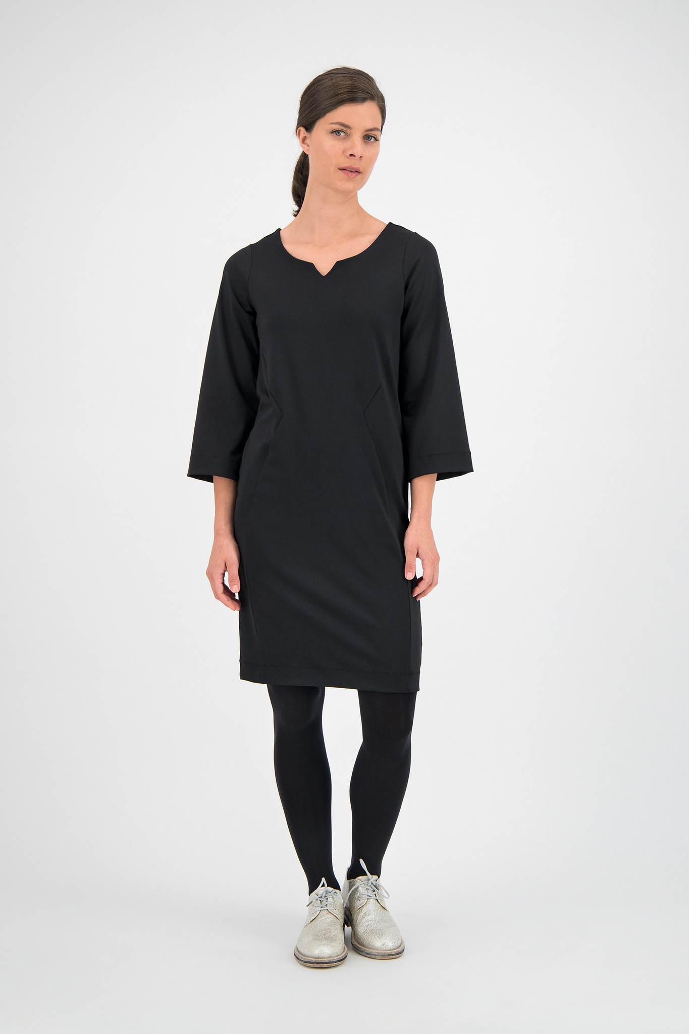 SYLVER Techno Jersey Dress - Black
