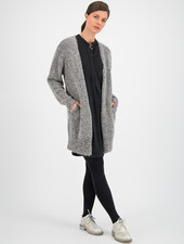 SYLVER Shine Cardigan - Grey