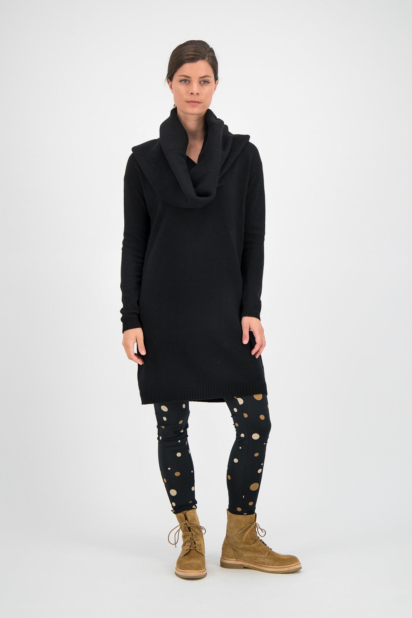 SYLVER Merino Mix Dress - Black