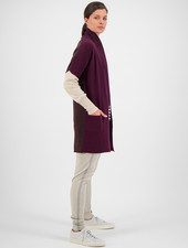 SYLVER Superb Cardigan - Choco Wine