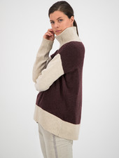 SYLVER Superb Pull Turtle-neck - Choco Wine