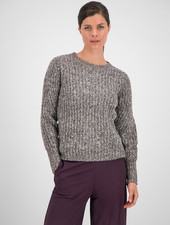 SYLVER Easter Pull Round neck - Choco Wine