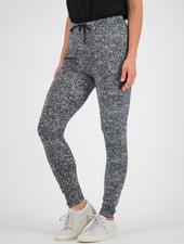 SYLVER Gravel Silky Jersey Pants - Grey