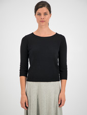 SYLVER Merino Mix Pull - Black