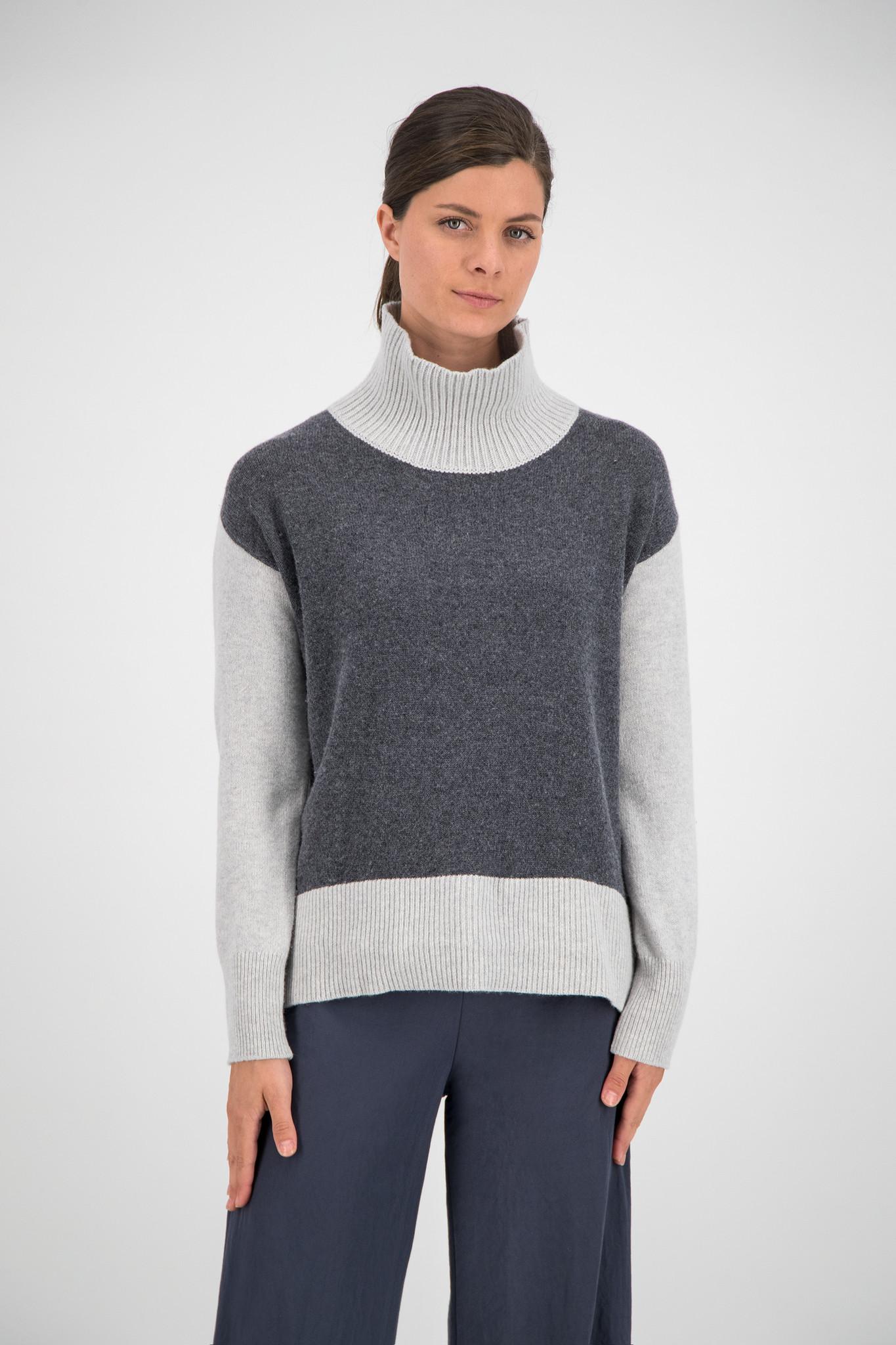 SYLVER Superb Pull Turtle-neck - Grey