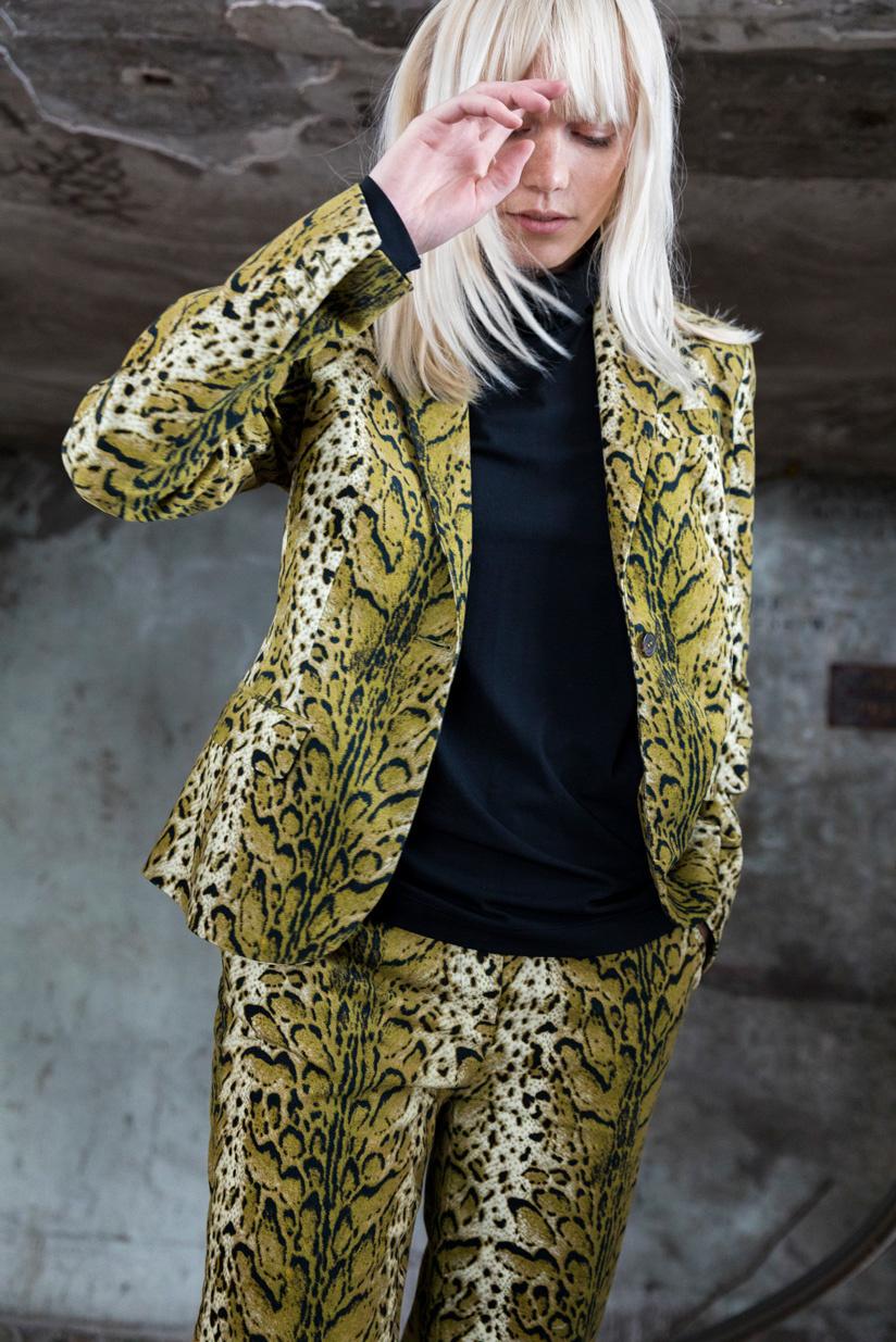SYLVER Leopard Tailoring