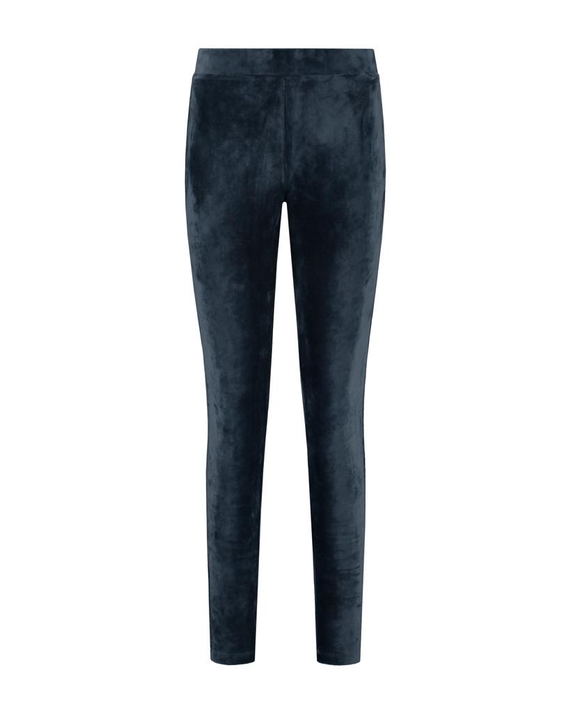SYLVER Velvet Legging - Dark Blue