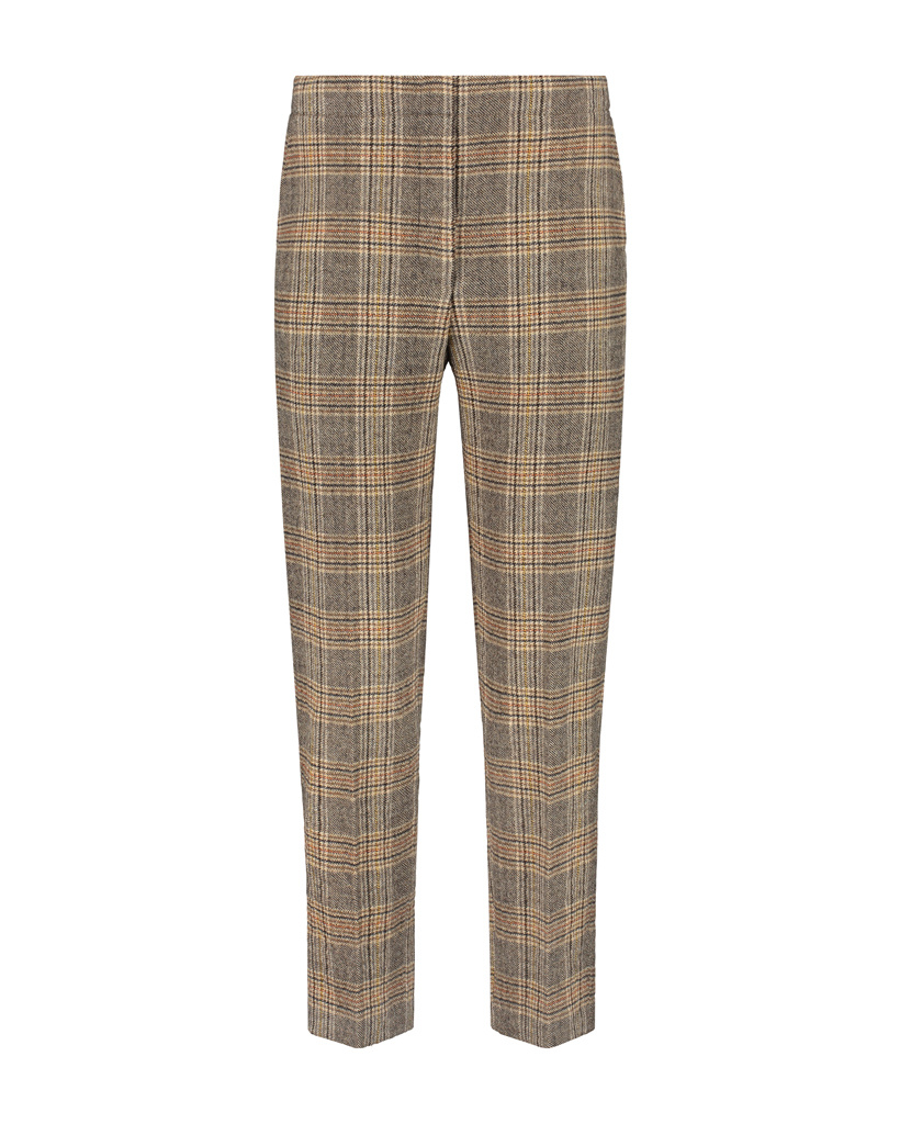 SYLVER Prince de Galles Trousers - Rust