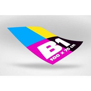 B1 formaat luxe poster 100 x 70 cm