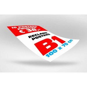 Winkel posters B1 formaat (100 x 70 cm) min 5 st
