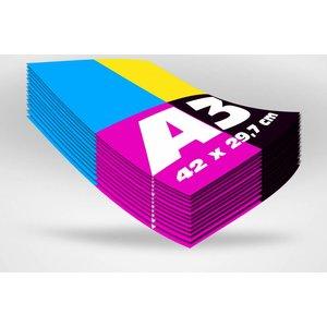 Blueback papier A3 formaat posters offset (42 x 29,7 cm)