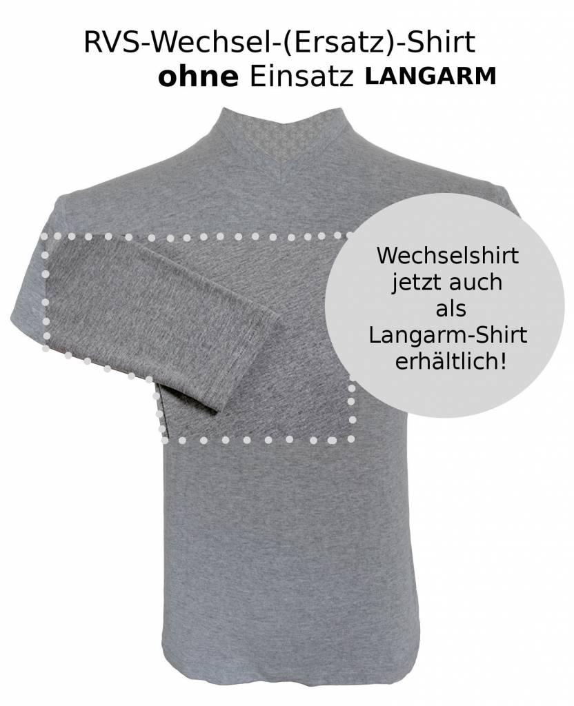 RVS-Shirt WK 3 Wechselshirt, langarm, einzeln mit Rückentasche, ohne Einsätze
