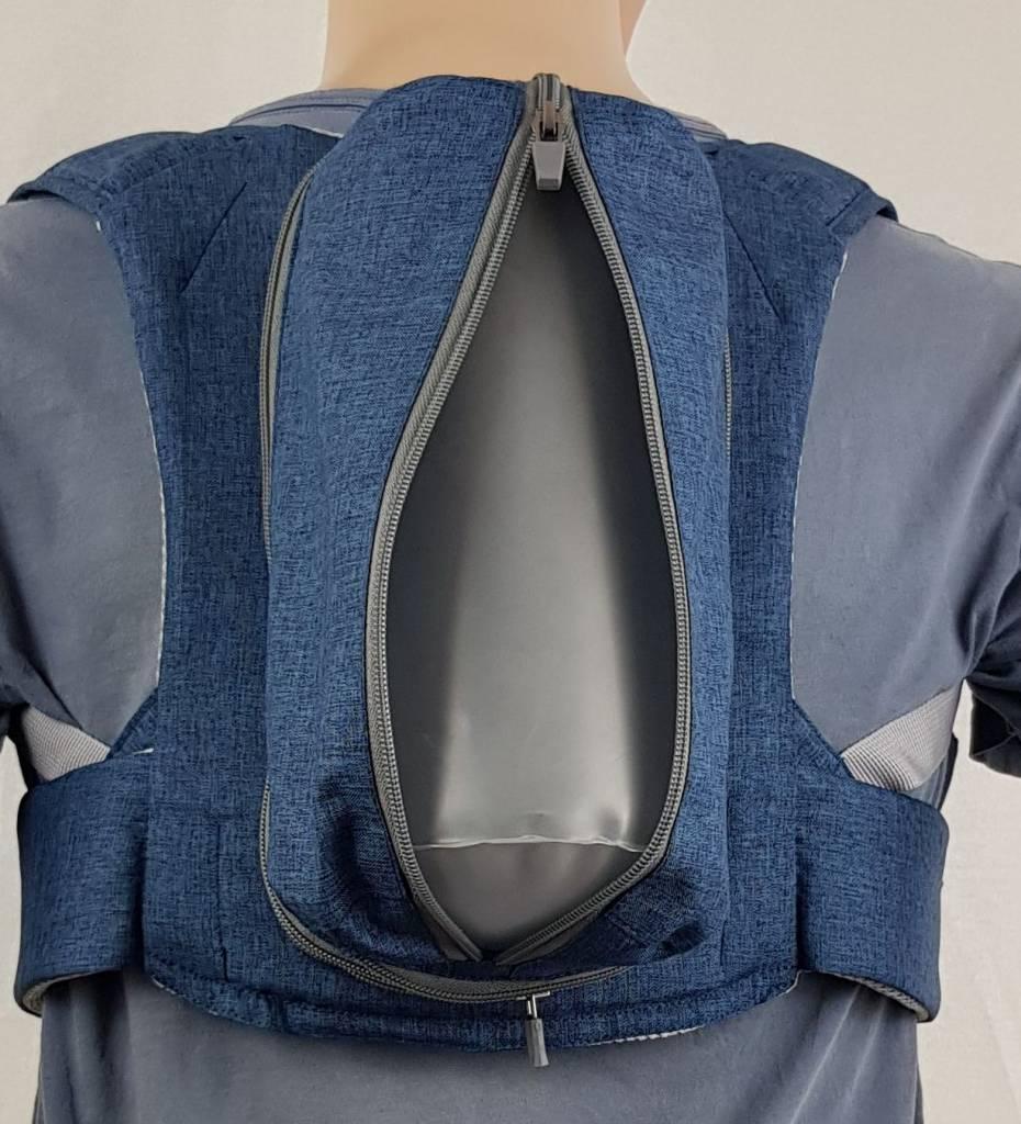 RVS-Anti-Apnoe-Rucksack WK 3 zur Verhinderung der Rückenlage bei Schnarchen und Schlafapnoe