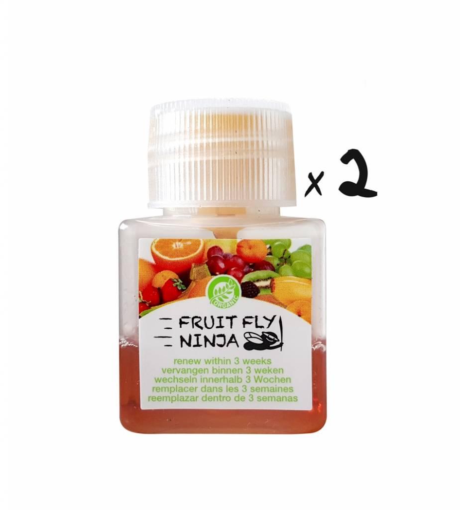 2-Pack (2 XL Fruchtfliegenfalle)