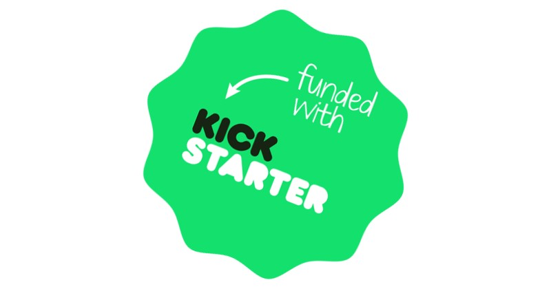 Successful Kickstarter campaign