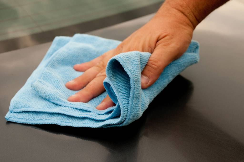 Microfiber cloth 10x (Blue)
